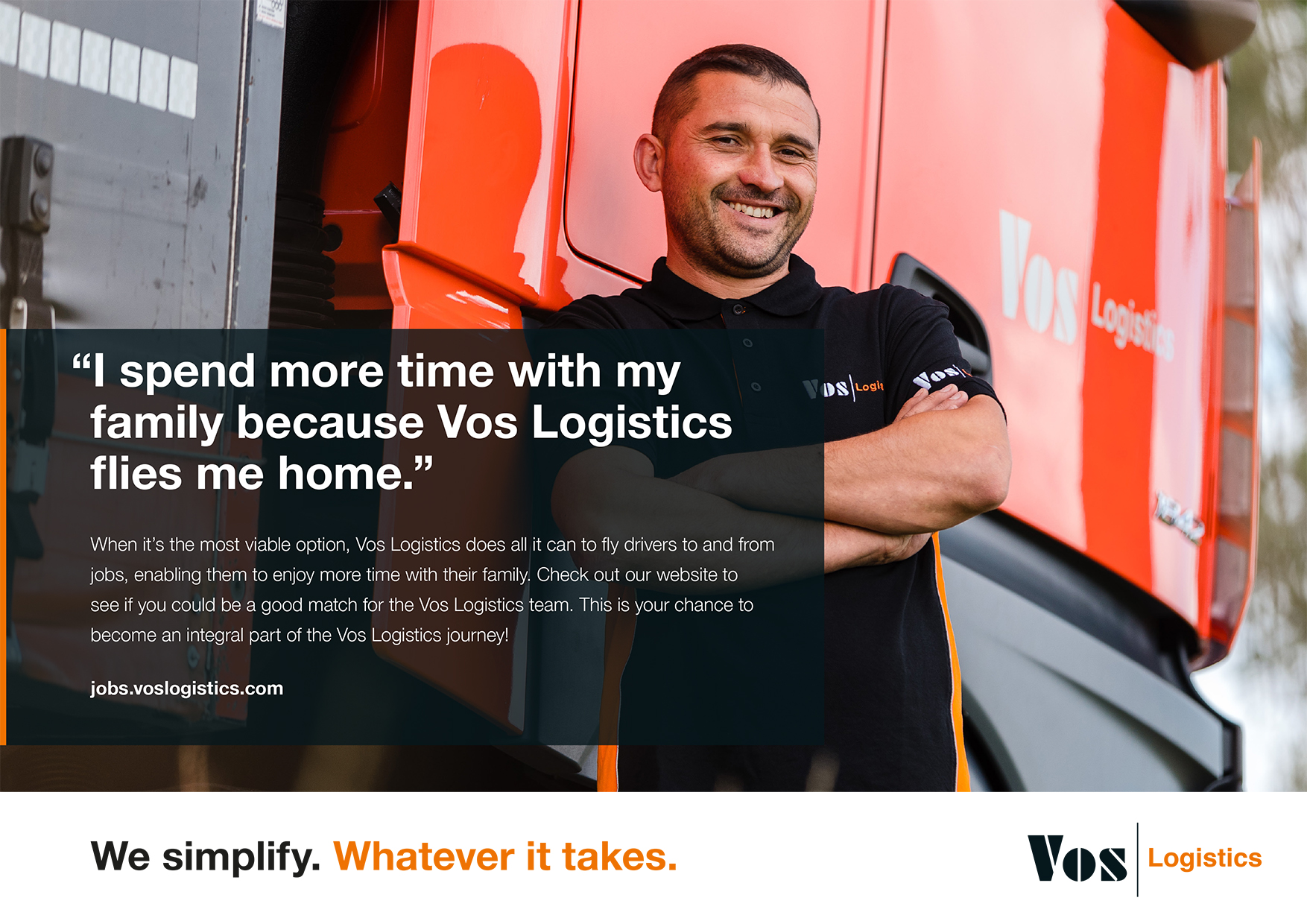 Vos Logistics Employer Branding