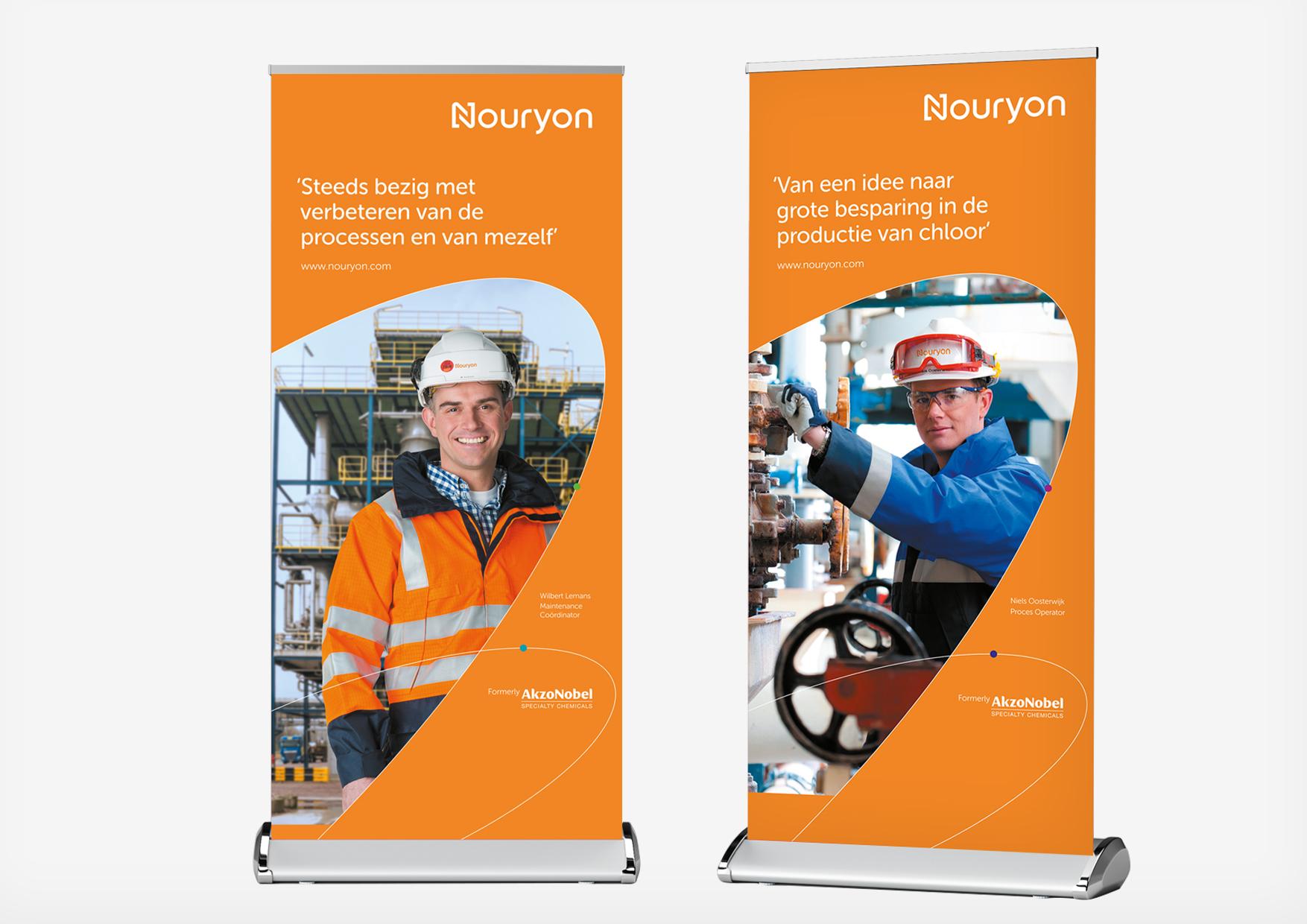 Nouryon Rebranding arbeidsmarktcommunicatie