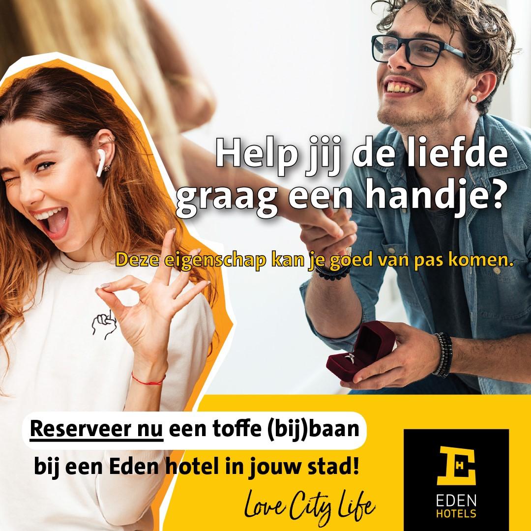 Eden Hotels - werving bijbaners